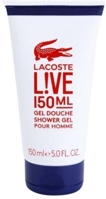 Lacoste Live Male sprchový gél pre mužov