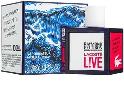 Lacoste Live Raymond Pettibon Collector´s Edition туалетна вода для чоловіків 1