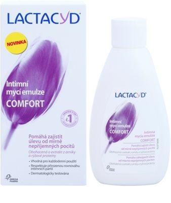 Lactacyd Comfort emulsão para higiene íntima 1