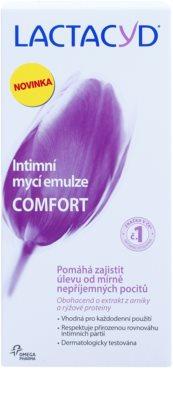 Lactacyd Comfort emulsão para higiene íntima 2