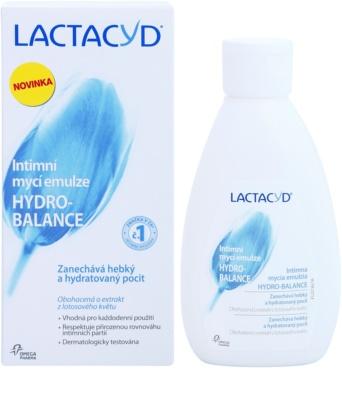 Lactacyd Hydro-Balance емульсія для інтимної гігієни 1