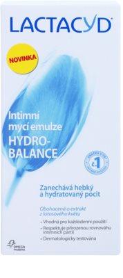 Lactacyd Hydro-Balance емульсія для інтимної гігієни 2