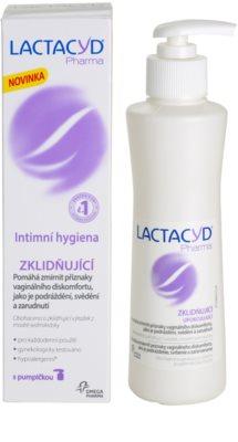 Lactacyd Pharma успокояваща емулсия за интимна хигиена 2