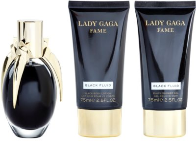 Lady Gaga Fame Black Fluid darilni set 1