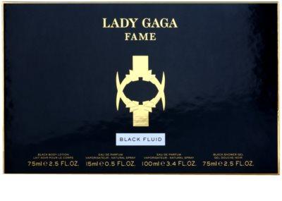 Lady Gaga Fame Black Fluid Geschenksets 2