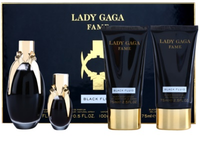 Lady Gaga Fame Black Fluid coffret presente