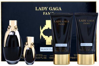 Lady Gaga Fame Black Fluid zestaw upominkowy