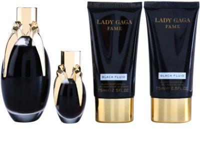 Lady Gaga Fame Black Fluid Geschenksets 1