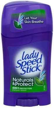 Lady Speed Stick Naturals & Protect tuhý antiperspitant