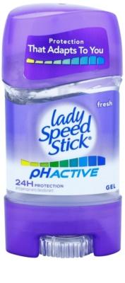 Lady Speed Stick PH Active antitranspirante gelatinoso