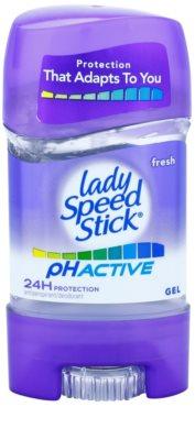 Lady Speed Stick PH Active gelový antiperspirant