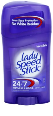 Lady Speed Stick 24/7 Invisible твердий антиперспірант