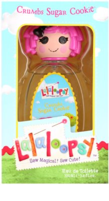 Lalaloopsy Crumbs Sugar Cookie Eau de Toilette pentru copii
