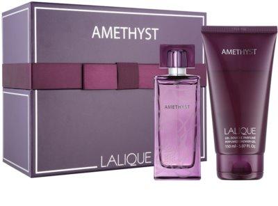 Lalique Amethyst darilni set