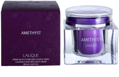 Lalique Amethyst Body Cream for Women