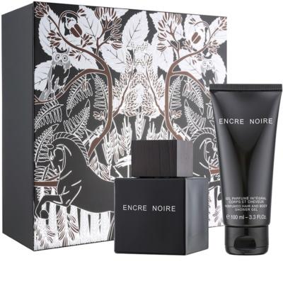 Lalique Encre Noire for Men coffrets presente
