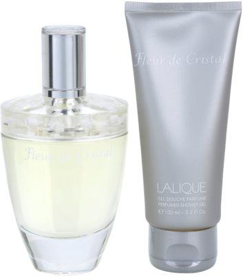 Lalique Fleur de Cristal dárková sada 1
