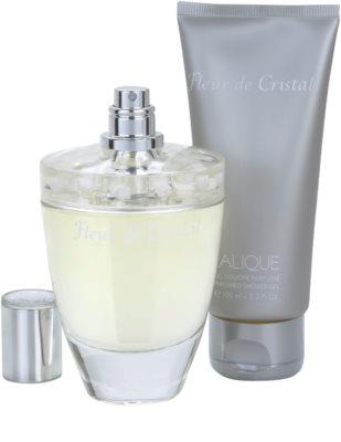 Lalique Fleur de Cristal dárková sada 2