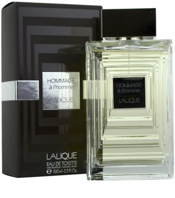 Lalique Hommage a L'Homme Eau de Toilette for Men 1