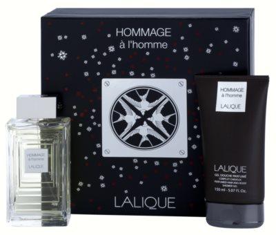 Lalique Hommage a L'Homme ajándékszett