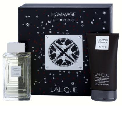 Lalique Hommage a L'Homme set cadou