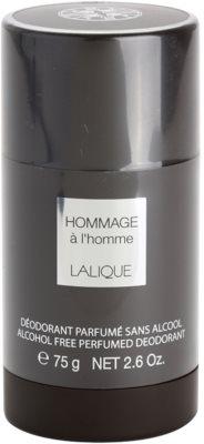 Lalique Hommage a L'Homme desodorante en barra para hombre