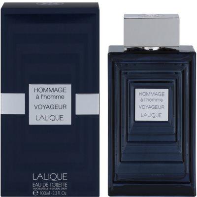 Lalique Hommage a L'Homme Voyageur eau de toilette férfiaknak