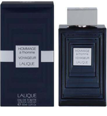 Lalique Hommage a L'Homme Voyageur toaletní voda pro muže