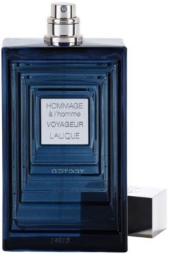 Lalique Hommage a L'Homme Voyageur eau de toilette teszter férfiaknak