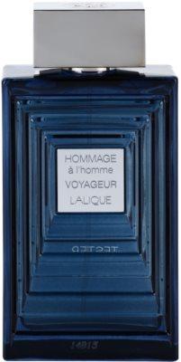 Lalique Hommage a L'Homme Voyageur eau de toilette teszter férfiaknak 1