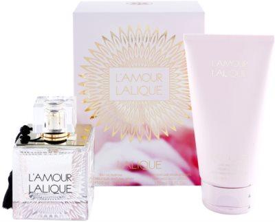 Lalique L´Amour coffret presente