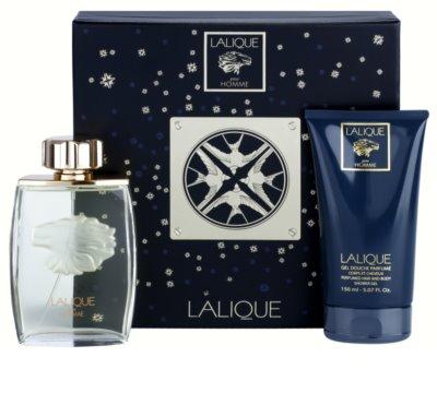 Lalique Pour Homme Lion coffret presente