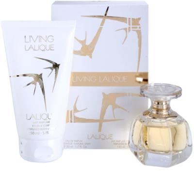 Lalique Living Lalique set cadou