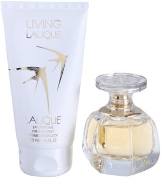 Lalique Living Lalique coffret presente 1