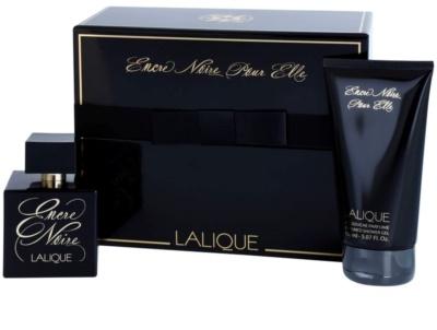 Lalique Encre Noire Pour Elle dárková sada