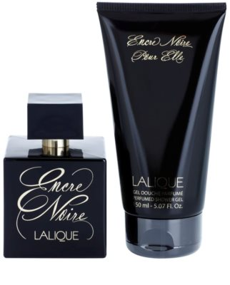 Lalique Encre Noire Pour Elle set cadou 1