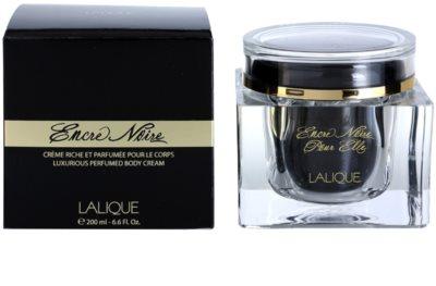 Lalique Encre Noire Pour Elle creme corporal para mulheres