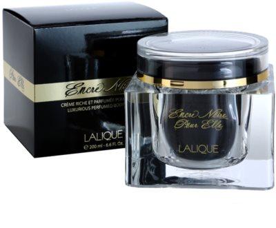 Lalique Encre Noire Pour Elle creme corporal para mulheres 1