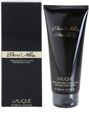 Lalique Encre Noire Pour Elle leite corporal para mulheres