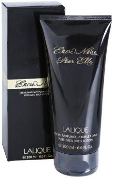 Lalique Encre Noire Pour Elle mleczko do ciała dla kobiet 1