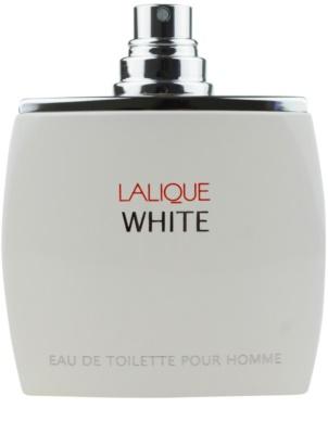 Lalique White eau de toilette teszter férfiaknak