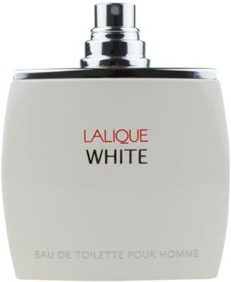Lalique White toaletní voda tester pro muže