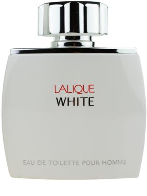 Lalique White eau de toilette teszter férfiaknak 1