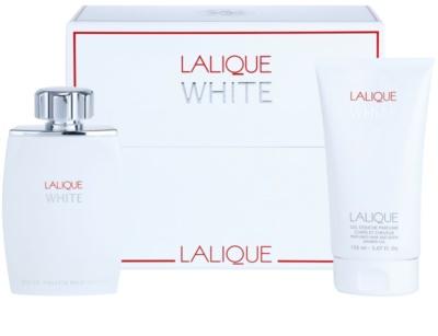 Lalique White set cadou