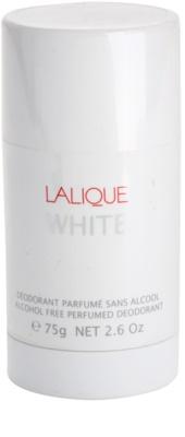 Lalique White desodorizante em stick para homens