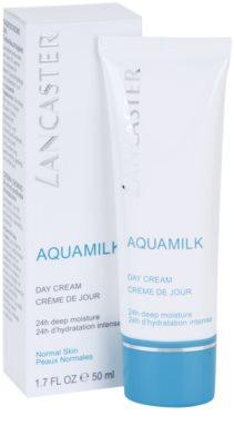 Lancaster Aquamilk зволожуючий крем для нормальної шкіри 1
