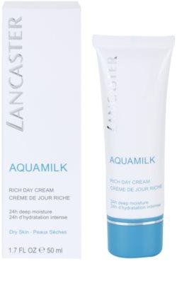 Lancaster Aquamilk krem nawilżający do skóry suchej i bardzo suchej 1