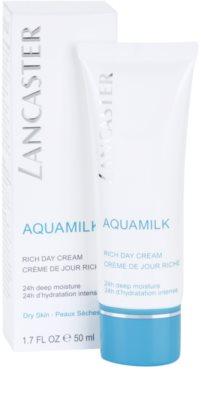 Lancaster Aquamilk krem nawilżający do skóry suchej i bardzo suchej 2