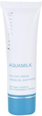 Lancaster Aquamilk krem nawilżający do skóry suchej i bardzo suchej