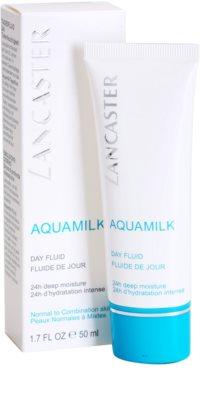 Lancaster Aquamilk nappali fluid hidratáló hatással 2